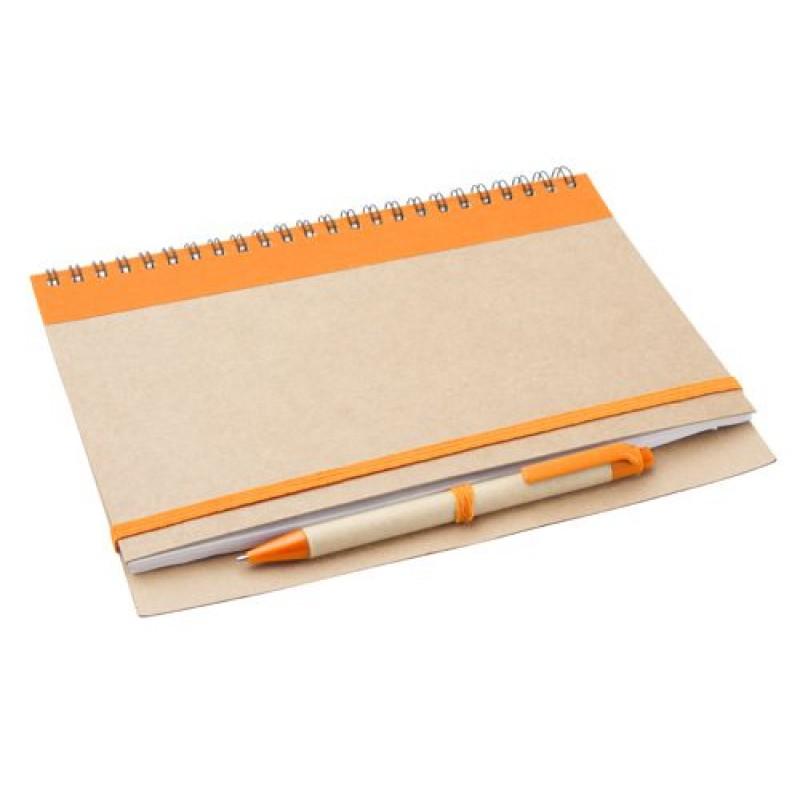 Блокнот D791049 с ручкой, формат А5
