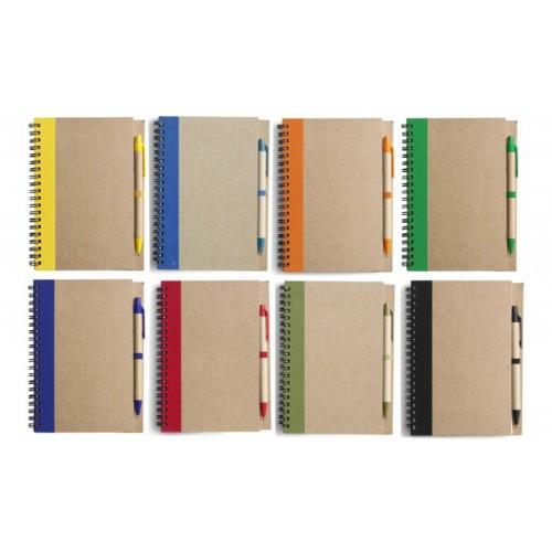 Блокнот E952715 с ручкой