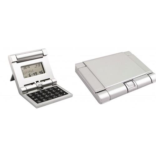 Калькулятор с мировым временем, датой, календарем,будильником и таймером.