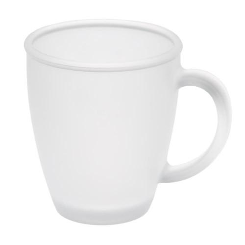 Чашка стеклянная матовая на 325мл