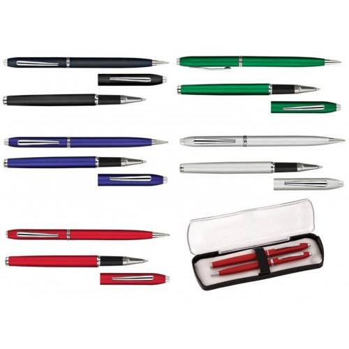 Набор: ручка шариковая и ручка роллер