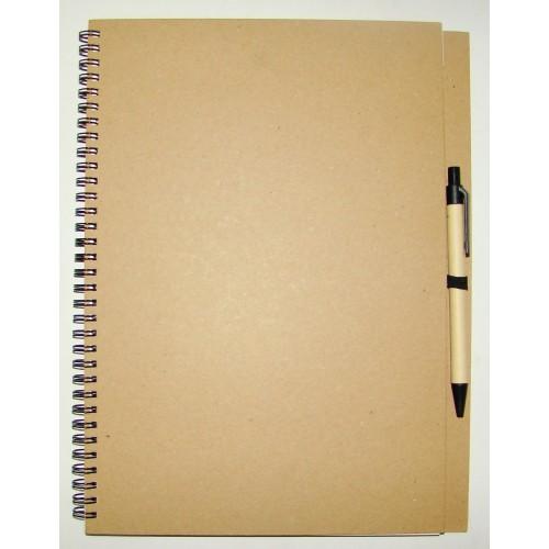 Блокнот D7534 с ручкой, формат А4
