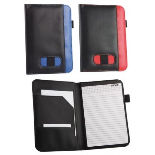 Папка для документов с блокнотом, держателем для ручки и флешки