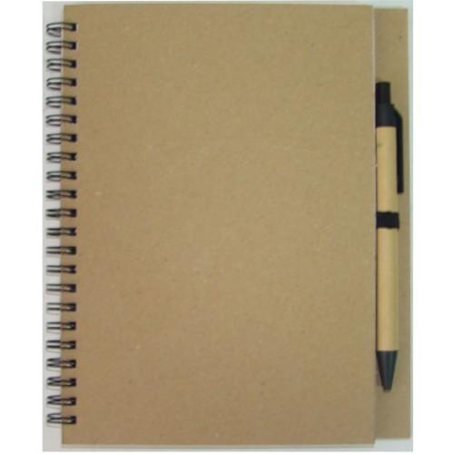 Блокнот D7535 с ручкой, формат А5