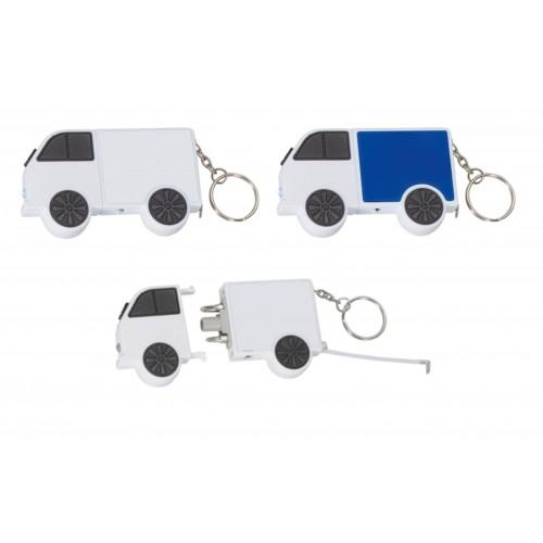 Рулетка в виде автомобиля с набором отверток и фонариком