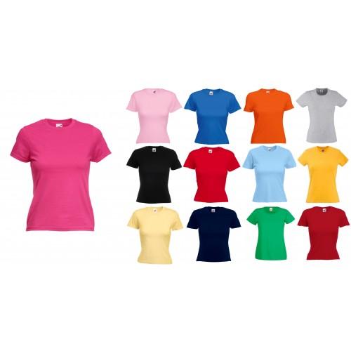 Футболка женская F61372-1 цветная