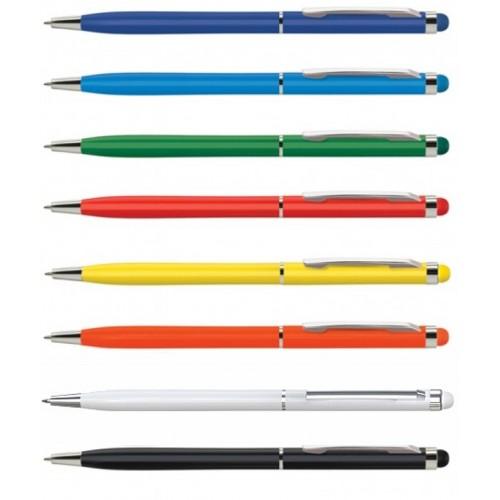 Ручка металлическая со стилусом Keno